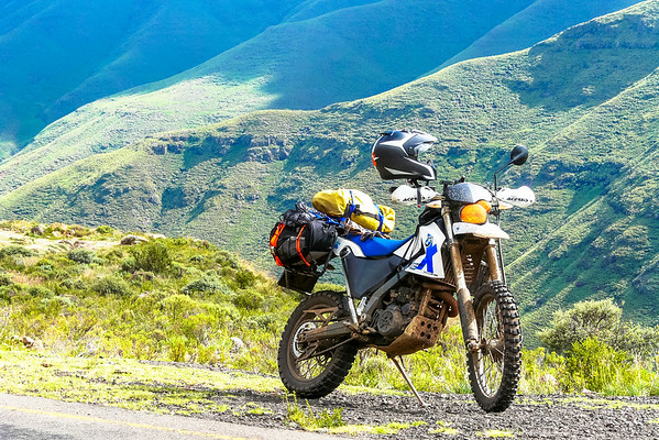 Lesotho Of all the bikes I have owned to date, this is the one I miss the most!