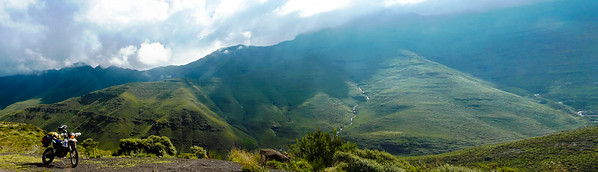 Lesotho What a view! Crisp, cool, fresh morning mountain air!