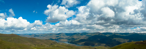 Lesotho Lesotho, seriously big sky country!