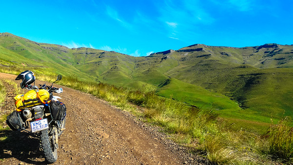 Lesotho Heading up to Naude